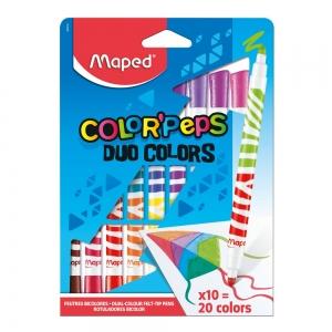 FLOMASTERI MAPED COLOR`PEPS M847010 DUO