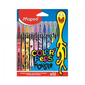 FLOMASTERI MAPED COLOR`PEPS MONSTER