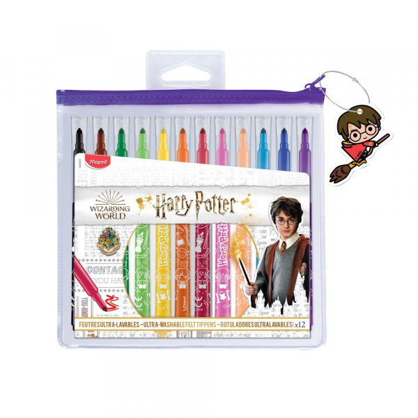 FLOMASTERI MAPED COLOR`PEPS HARRY POTTER